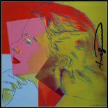 ANDY WARHOL - Ingrid Bergman: Herself (06) - Color offset lithograph