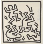 KEITH HARING - Rumble - Lithograph
