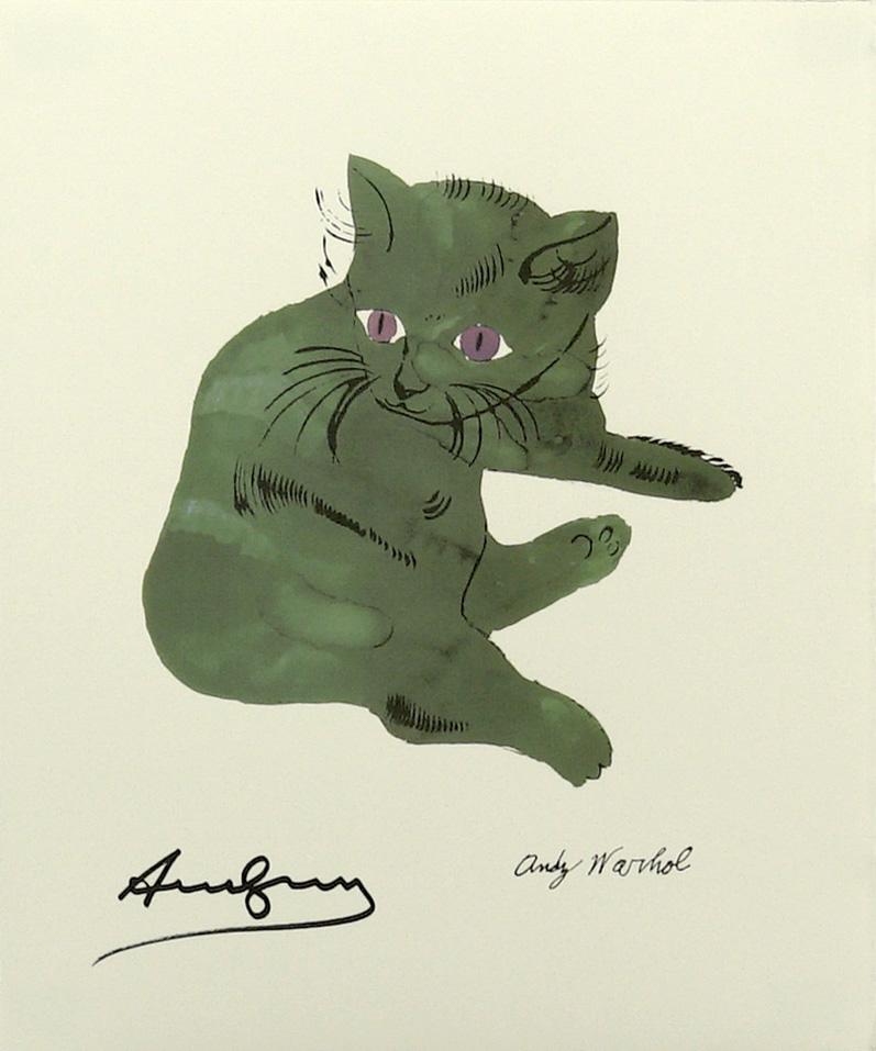 ANDY WARHOL [d'apres] - Sam #15 - Color lithograph