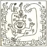 KEITH HARING - Nineteen Legs - Lithograph