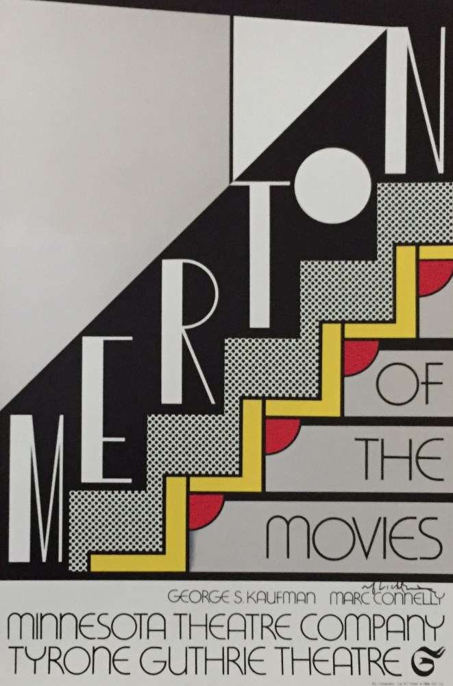 ROY LICHTENSTEIN - Merton of the Movies - Color silkscreen