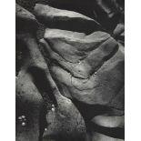 ANSEL ADAMS - Rocks and Limpets, Point Lobos, California - Original vintage photogravure
