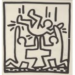 KEITH HARING - One for All - Lithograph