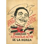 DIEGO RIVERA - Julius Fucik: Reportage al Pie… - Original color lithograph