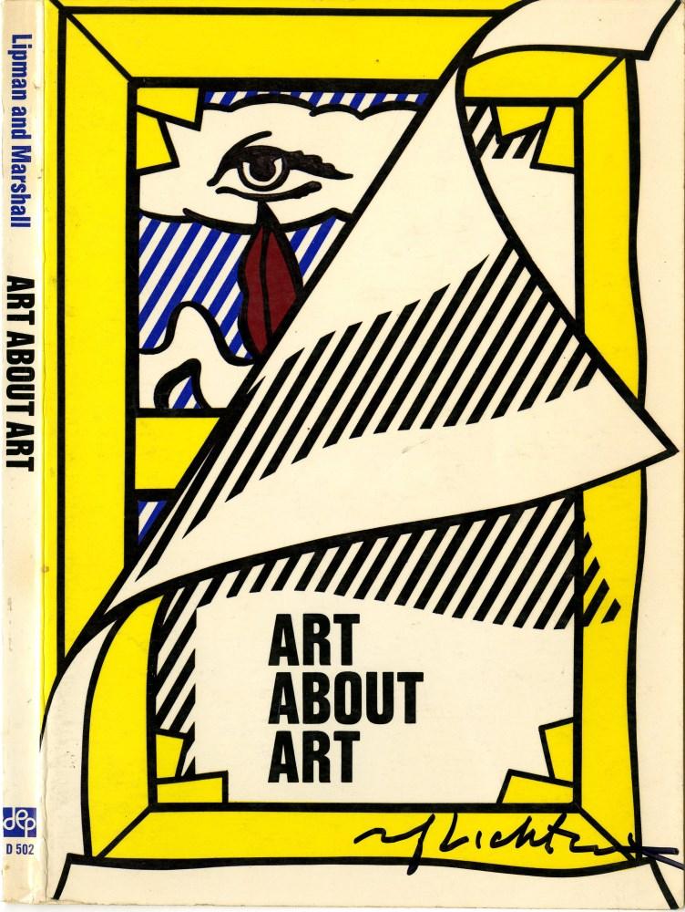 ROY LICHTENSTEIN - Art about Art - Color offset lithograph