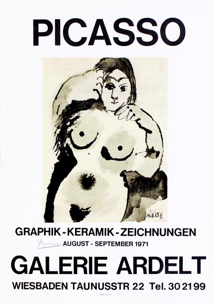 PABLO PICASSO - Picasso: Graphik - Keramik - Zeichnungen - Color lithograph
