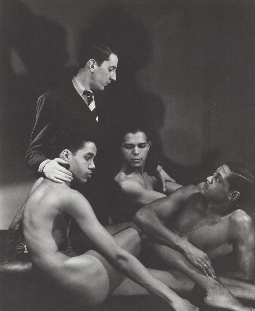 GEORGE PLATT LYNES - Frederick Ashton with Cast Members of Four Saints in Three Acts - Original p...
