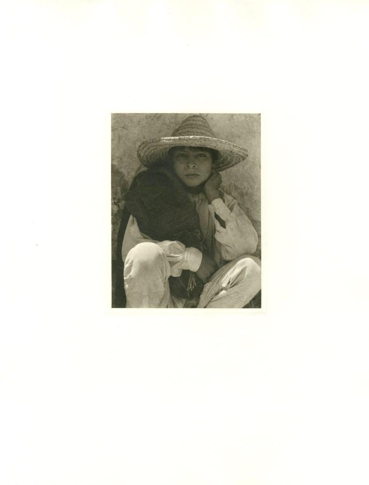 PAUL STRAND - A Boy, Hidalgo - Original photogravure - Image 2 of 2