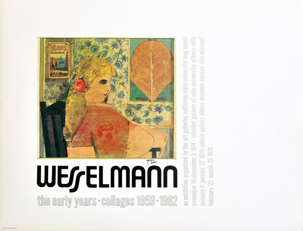 TOM WESSELMANN - The Early Years - Color offset lithograph