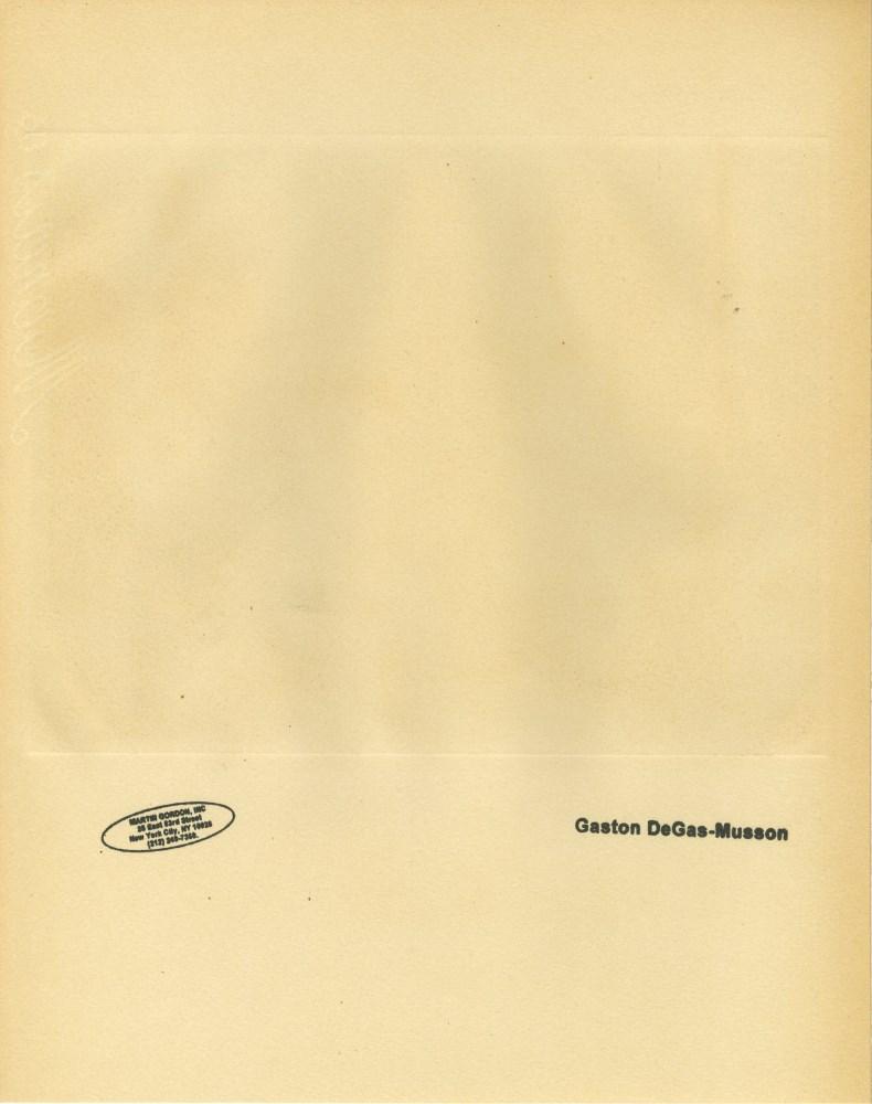 EDGAR DEGAS - Au salon - Original duogravure, after the monotype - Image 2 of 2