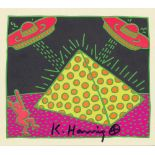 KEITH HARING - Fertility Suite #2 - Original offset lithograph