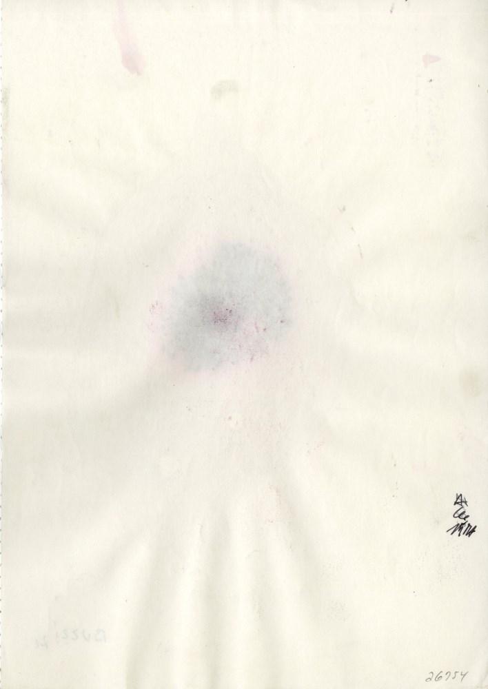 ALBERTO BURRI [imputee] - Combustione #2 - Mixed media on paper - Image 2 of 3