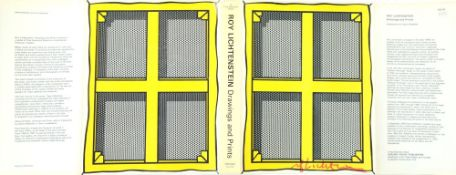 ROY LICHTENSTEIN - Stretcher Frame with Cross Bars - Color offset lithograph