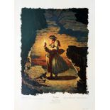 NORMAN ROCKWELL - Tom Sawyer: Tom, Tom, We're Lost - Original color collotype
