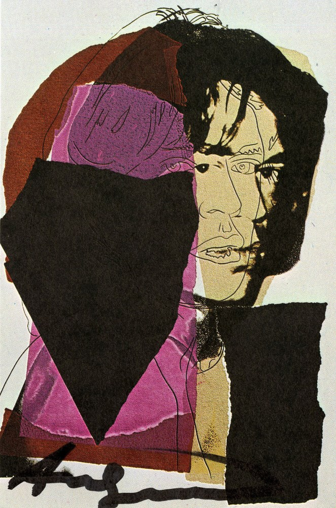 ANDY WARHOL - Mick Jagger #07 (first edition) - Color offset lithograph
