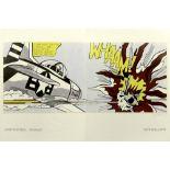 ROY LICHTENSTEIN - Whaam! - Original color offset lithographs