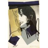 ANDY WARHOL - Mick Jagger #06 (second edition) - Color offset lithograph