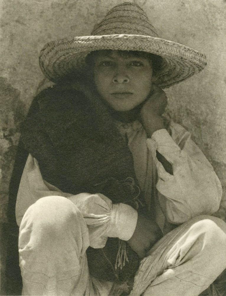 PAUL STRAND - A Boy, Hidalgo - Original photogravure
