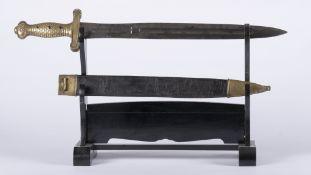 France, Restauration Louis XVIII: Glaive d'artilleur modèle 1816. Restauration glaive français d'