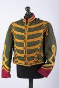 Belgique: Dolman de troupe d'un guide à cheval modifié pour le théâtre. Dolman de troupe des
