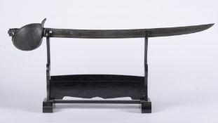 France, Louis-Philippe: Sabre de bord modèle 1833. Sabre de bord modèle 1833. Monture en fer