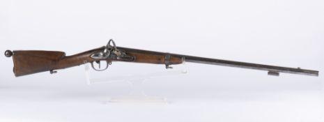 France: Fusil modèle 1777 corrigé An X, transformé en fusil de chasse. Fusil de chasse réalisé à