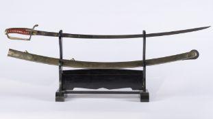 France, Premier Empire: Sabre de cavalerie légère, Premier Empire. Collection privée. Sabre d'