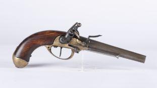 France, Louis XVI: Pistolet de cavalerie modèle 1777 signé Charleville. Collection Ligny 1815