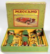 AN UNUSED MECCANO MOTOR CAR CONSTRUCTOR SET NUMBER 2, CIRCA 1930