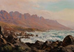 Tinus de Jongh (South African 1885 - 1942) THE TWELVE APOSTLES