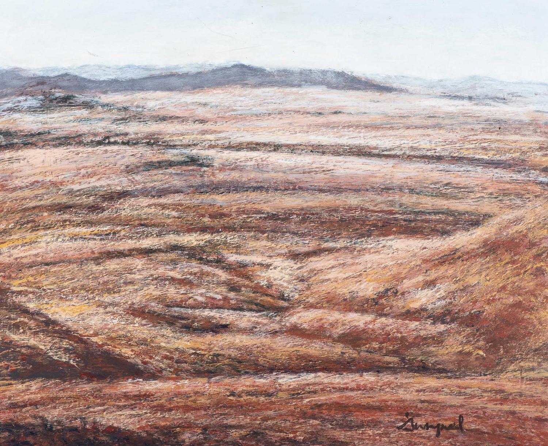 Pieter Swanepoel (South Africa 20th Century): HIGH HORIZON