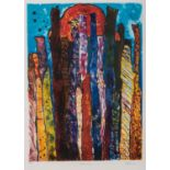 Dumisani Mabaso (South Africa 1955 ? ): MORNING, MIDDAY, AFTERNOON, triptych