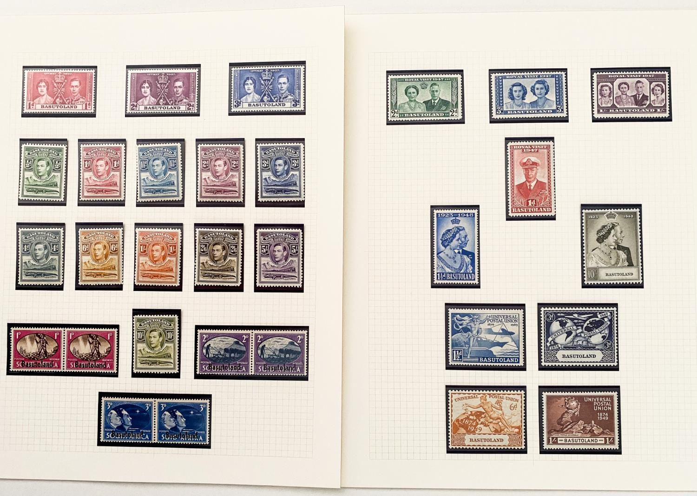 BASUTOLAND 1937-1949 KING GEORGE VI ISSUES
