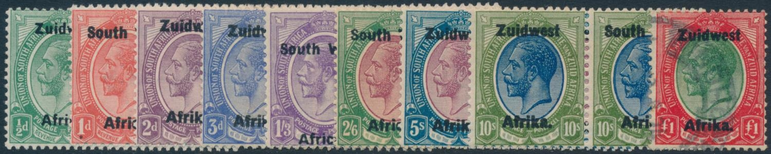 SOUTH WEST AFRICA 1923-1924