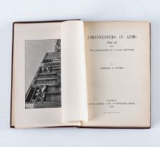 Thomas, C. G. ? JOHANNESBURG IN ARMS, 1895-1896: BEING THE OBSERVATIONS OF A CASUAL SPECTATOR (INSCR
