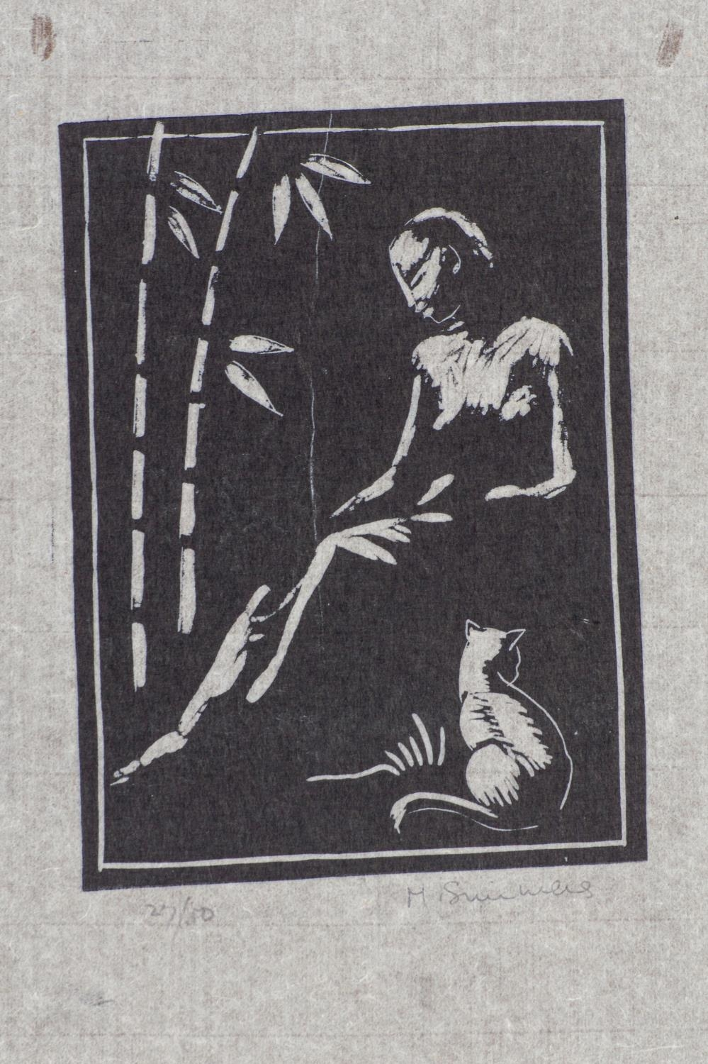 Melvin Simmers (South Africa 1907 ? 1991): FIVE LINOCUTS