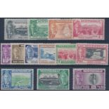 MONTSERRAT 1951 KGVI 1c -$4.80