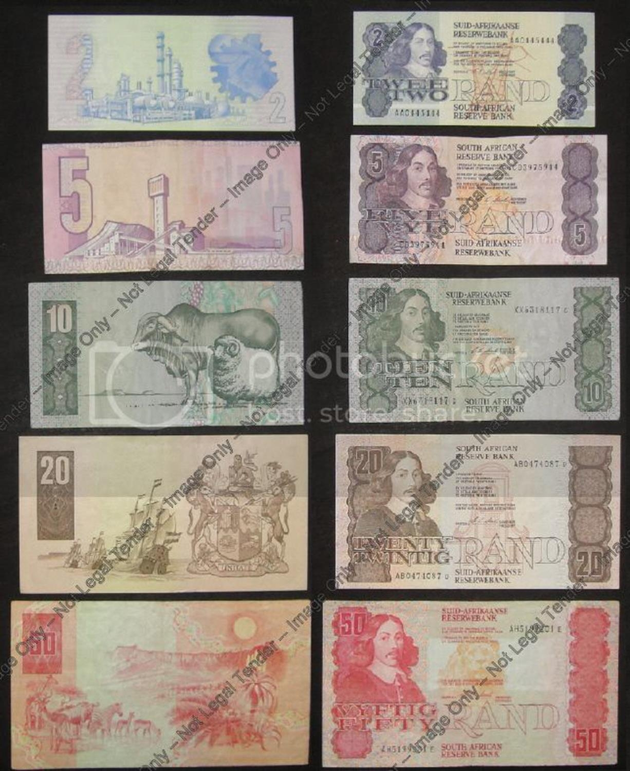 A MISCAELLANEOUS COLLECTION OF UNCOUNTED BANKNOTES