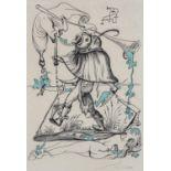 Salvador Dalí (Spain 1904 ? 1989): THE RAT'S CHARMER