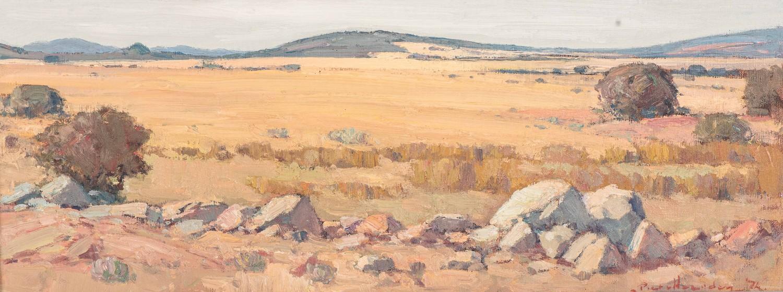Piet van Heerden (South Africa 1917 ? 1991):HIGHVELD LANDSCAPE