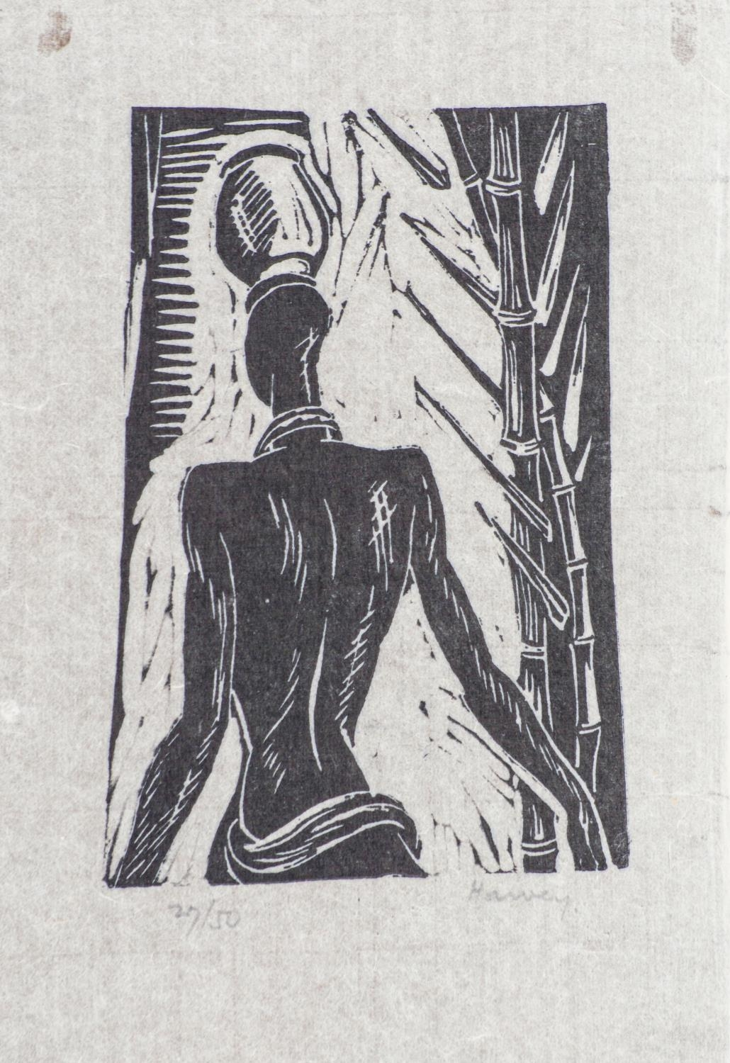 Russell Harvey (South African 1904 ? 1963): FIVE LINOCUTS