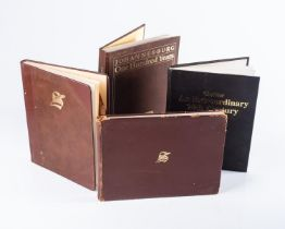 Various Authors ? LOT OF 4 DE-LUXE EDITIONS OF BOOKS ON JOHANNESBURG
