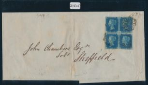 GREAT BRITAIN 1842 (JANUARY 19TH) QV WRAPPER