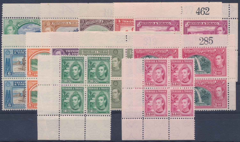 TRINIDAD & TOBAGO 1938-1944 KGVI DEFINITIVES