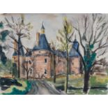 Maud Frances Eyston Sumner (South Africa 1902 ? 1985): CHATEAU ON THE LOIRE