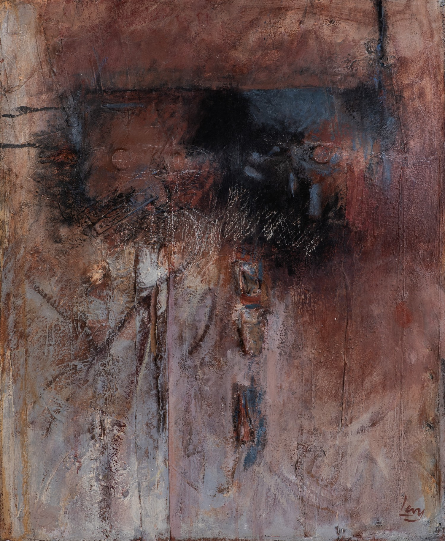 Ruth Levy (South Africa 1924 ? 2017): ABSTRACT COMPOSITION