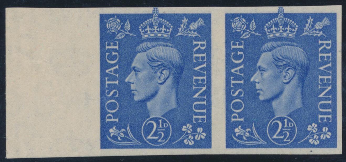 GREAT BRITAIN 1941 KGVI 2½d. LIGHT ULTRAMARINE