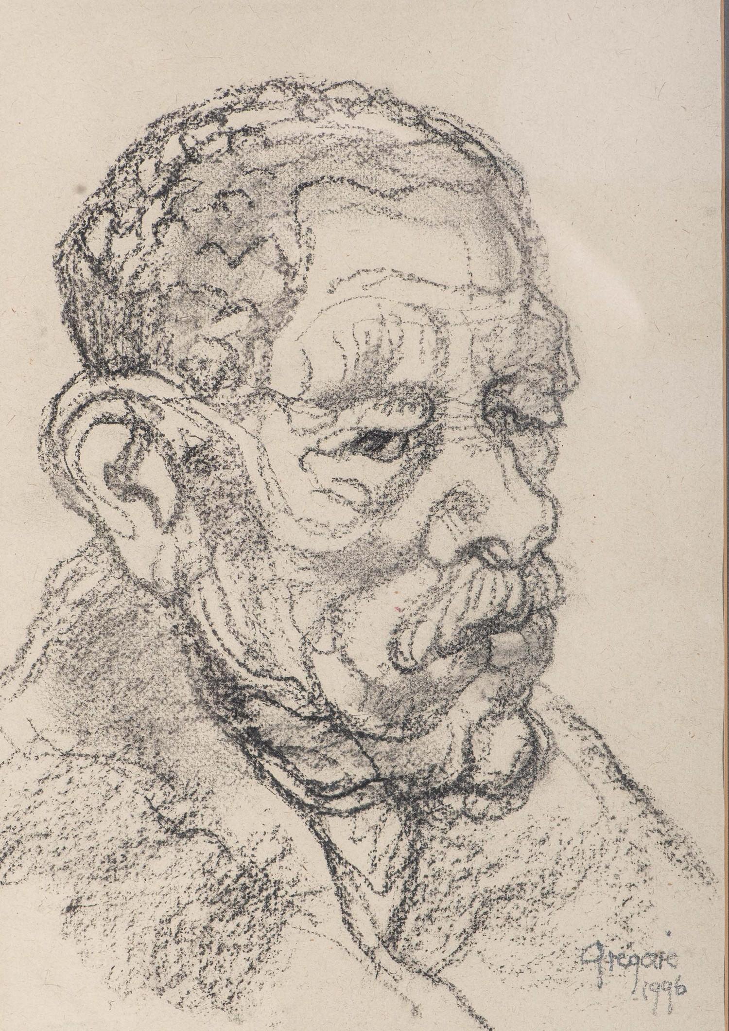Gregoire Johannes Boonzaier (South Africa 1909 ? 2005): PORTRAIT OF A MAN