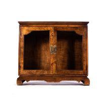A WALNUT SIDE CABINET, 19TH CENTURY
