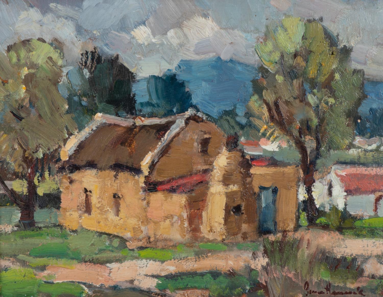 Bruce Hancock (South Africa 1912 ? 1990): FARM HOUSE